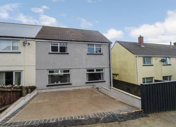 Thumbnail 3 bed semi-detached house for sale in Fitzroy Street, Brynmawr, Ebbw Vale