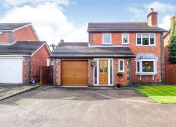 Thumbnail 4 bed detached house for sale in Devitt Way, Broughton Astley, Leicester