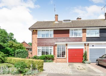 Thumbnail 4 bed semi-detached house for sale in The Furlongs, Ingatestone