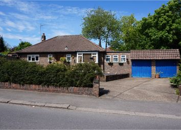 Thumbnail 4 bed detached bungalow for sale in Woodcote Valley Road, Purley
