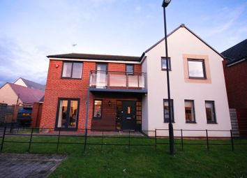 Thumbnail 5 bed detached house for sale in Humbleton Road, Newcastle Upon Tyne