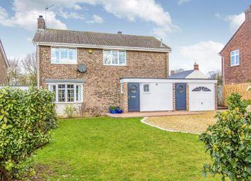 Thumbnail 4 bed detached house for sale in Yeomans Close, Catworth, Huntingdon, Cambridgeshire