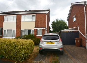 Thumbnail 2 bed semi-detached house to rent in Brodick Close, Hinckley, Leicestershire
