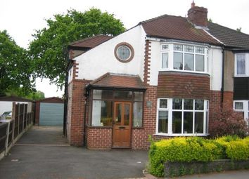 Thumbnail 3 bed semi-detached house for sale in 88 Buckingham Road, Cheadle Hulme, Cheadle, Cheshire