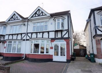 Thumbnail 4 bed semi-detached house for sale in Colvin Gardens, Ilford