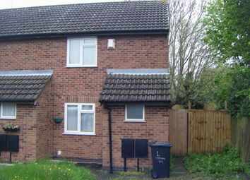 Thumbnail 2 bed terraced house to rent in Caroline Court, Leicester