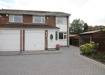 Thumbnail 3 bed semi-detached house for sale in Chesham Avenue, Urmston, Manchester
