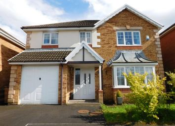 Thumbnail 4 bed detached house for sale in Gellideg Isaf Rise, Maesycwmmer, Hengoed