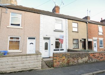 Thumbnail 2 bed terraced house to rent in Wellington Street, New Whittington, Chesterfield