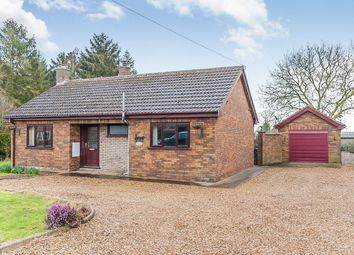 Thumbnail 2 bed detached bungalow for sale in Lynn Road, Walpole Highway, Wisbech