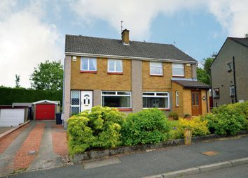 Thumbnail 3 bed semi-detached house for sale in 19 Lunan Drive, Bishopbriggs, Glasgow