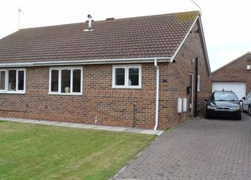 Thumbnail 2 bed bungalow to rent in Beck Close, Howden, Goole