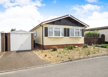 Thumbnail 2 bedroom mobile/park home for sale in Fenland Village, Osborne Road, Wisbech