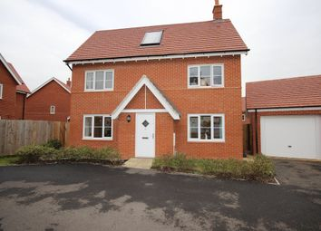 Thumbnail 4 bed detached house for sale in Wortham Close, Great Denham, Bedford