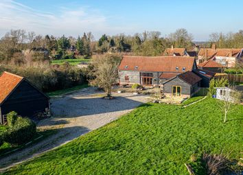 Thumbnail 5 bed barn conversion for sale in Old High Road, Roydon, Diss