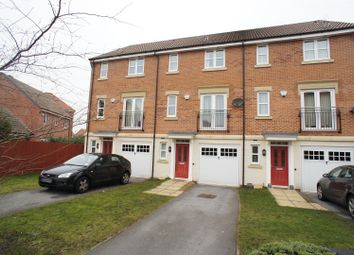 Thumbnail 3 bed town house to rent in Athens Court, Chellaston, Derby