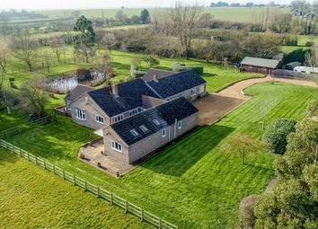 Thumbnail 6 bed detached bungalow for sale in Pidley Road, Somersham, Huntingdon
