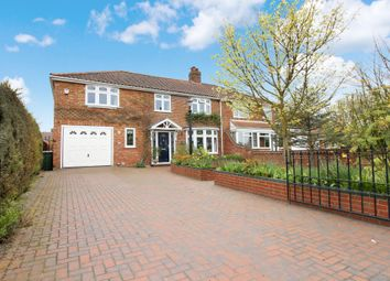 Thumbnail 4 bed semi-detached house for sale in Holt Road, Hellesdon, Norwich