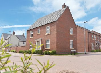 "Thumbnail 3 bed detached house for sale in ""Hadley"" at Tamora Close, Heathcote, Warwick"