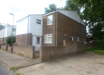 Thumbnail 3 bed end terrace house to rent in Caraway Close, Crawley