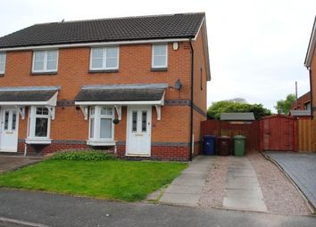 Thumbnail 2 bed property to rent in Foxes Rake, Cannock