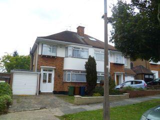 Thumbnail 3 bedroom semi-detached house to rent in The Ridgeway, North Harrow, Harrow