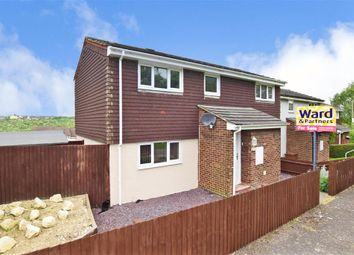Thumbnail 3 bed end terrace house for sale in Swift Crescent, Walderslade, Chatham, Kent