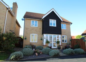 Thumbnail 4 bed detached house for sale in Swallow Drive, Stowmarket
