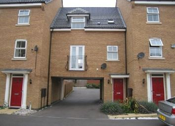 Thumbnail 2 bed terraced house to rent in Spellow Close, Coton Meadows, Rugby, Warwickshire