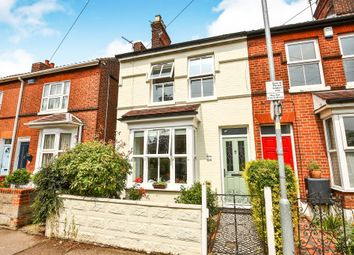 Thumbnail 3 bed end terrace house for sale in Sigismund Road, Norwich