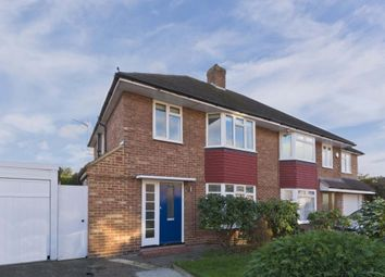 Thumbnail 3 bed semi-detached house to rent in Meadow Way, Addlestone