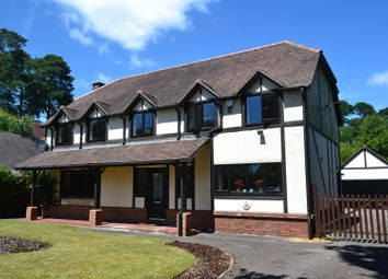 Thumbnail 4 bed detached house for sale in Pinewood Gardens, Ferndown