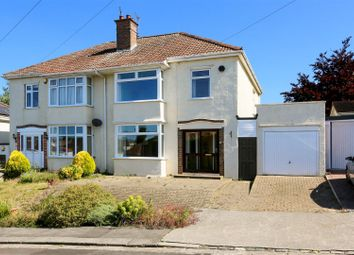 Thumbnail 3 bed semi-detached house for sale in Kings Avenue, Bishopston, Bristol