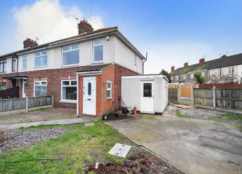 Thumbnail 3 bed end terrace house for sale in Hawkins Avenue, Great Yarmouth
