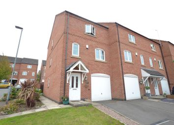 Thumbnail 4 bed town house for sale in Whitehead Close, Sileby, Leicestershire