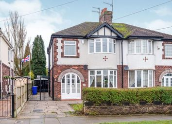 Thumbnail 3 bed semi-detached house for sale in Chell Green Avenue, Chell, Stoke, Staffs