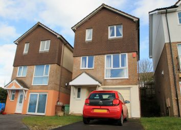 Thumbnail 3 bed detached house for sale in Holne Chase, Plymouth