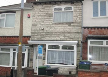 Thumbnail 3 bed terraced house to rent in Talbot Road, Bearwood, Smethwick