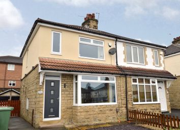 Thumbnail 2 bed semi-detached house for sale in Moorland Road, Pudsey, West Yorkshire