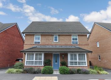Thumbnail 4 bed detached house for sale in Park Way, Rogerstone, Newport