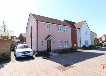 Thumbnail 3 bed detached house for sale in Otter Place, Stanway, Colchester