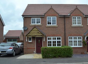 Thumbnail 3 bed semi-detached house for sale in Luton Road, Church Gresley, Swadlincote