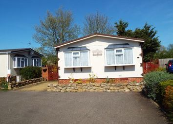 Thumbnail 2 bed mobile/park home for sale in Witchford, Ely, Cambridgeshire