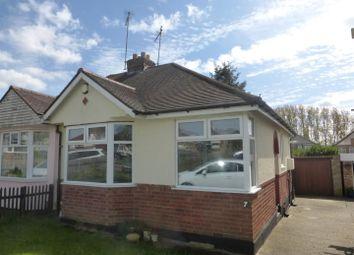Thumbnail 2 bed semi-detached bungalow for sale in Sandhills Close, Kingsthorpe, Northampton