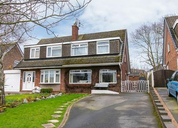Thumbnail 3 bed semi-detached house for sale in Laver Close, Arnold, Nottingham