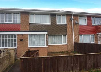 Thumbnail 3 bed terraced house for sale in Bullamoor Close, Northallerton