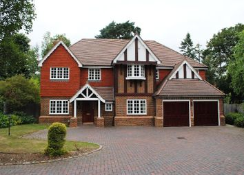 Thumbnail 5 bed detached house to rent in Old Woking Road, Pyrford, Woking
