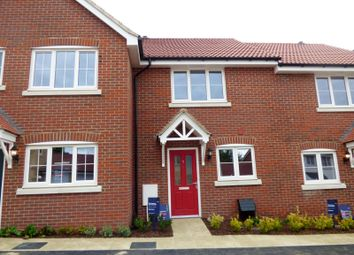Thumbnail 2 bed terraced house to rent in Boyton Hall Drive, Combs Lane, Stowmarket