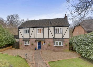Thumbnail 4 bed detached house for sale in Farnham Close, Pease Pottage, Crawley