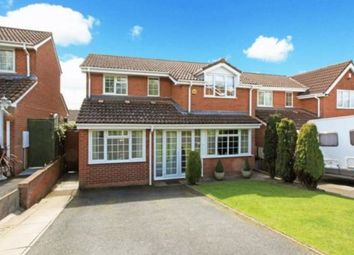 Thumbnail 4 bed detached house to rent in Fairburn Road, Telford